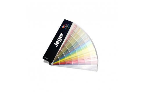 Jeger Wzornik kolorów farb wachlarzowy