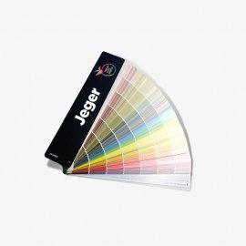 Wzornik kolorów farb wachlarzowy