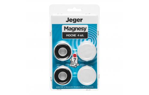 Magnes Mocny Biały 4 szt