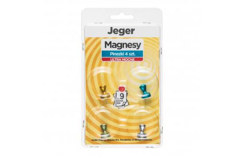 Magnes Ultra Mocny Pinezki 4 szt.