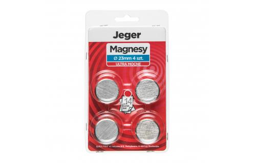 Magnes Ultra Mocny 23 mm 4 szt.