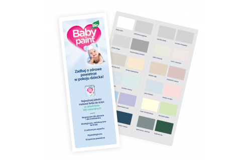 Jeger Baby Paint - wzornik
