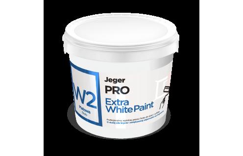 Jeger PRO Extra White Paint W2 Matowa 10 L
