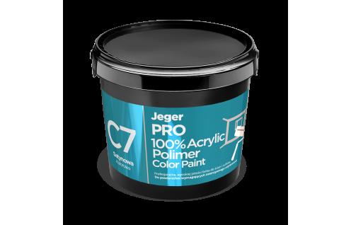 Jeger PRO 100% Acrylic Polimer Color Paint - C7 Satynowa 10 L