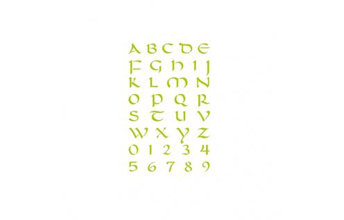 Jeger Szablon 20x30 cm - wzór nr 161
