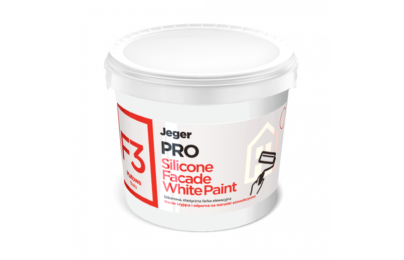 F3 Silicone Facade White Paint