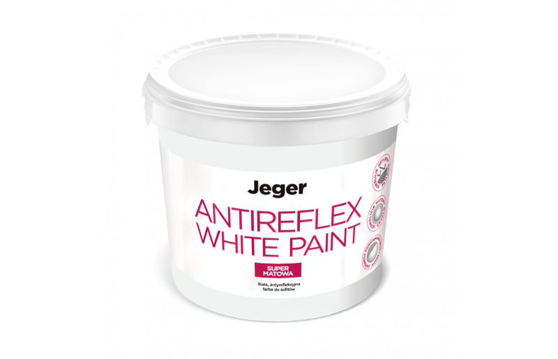 Jeger Antireflex White Paint