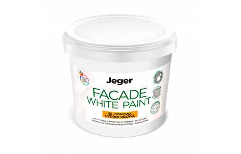 Jeger Facade White Paint 10 L
