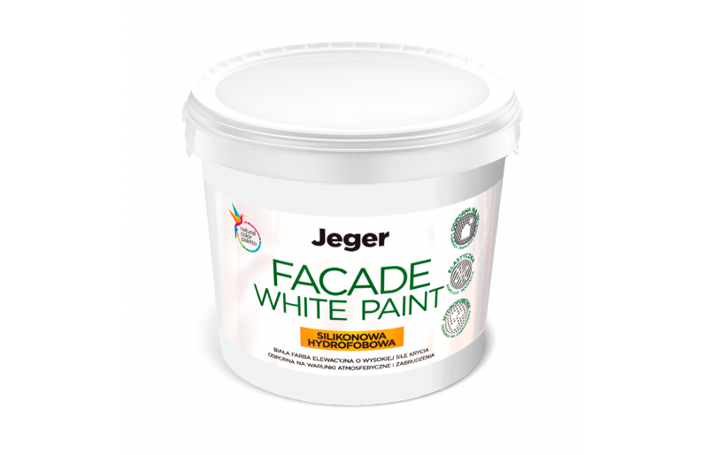 Jeger Facade White Paint
